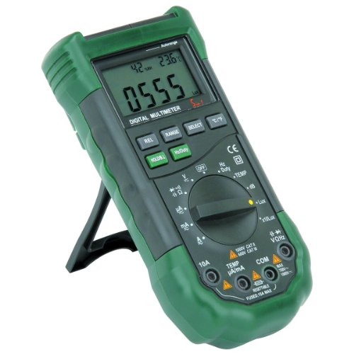 14 Function Professional Digital Multimeter with Sound Level and Luminosity by Max Value Hardware