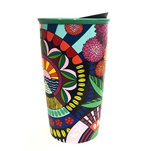 Starbucks Travel Coffee Mugs - Starbucks + Jessie & Katey Double Walled Ceramic Travel Tumbler Limited Edition