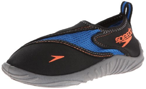 Speedo Little Kid/Big Kid Surfwalker,Imperial Blue/Dark Gull Grey,11 M US Little Kid