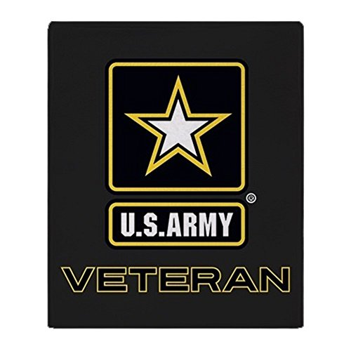 CafePress U.S. Army Veteran Soft Fleece Throw Blanket, 50
