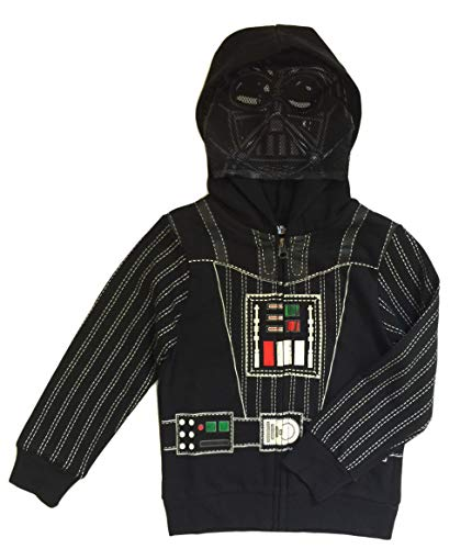 Star Wars Little Boys & Toddler Darth Vader Costume Hoodie (5 Toddler) -