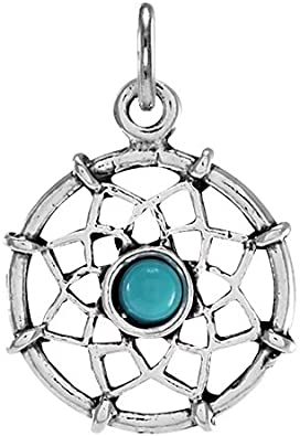 TheCharmWorks Sterling Silver Dream Catcher Charm