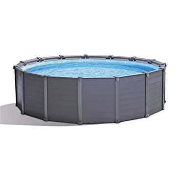 Intex 26383EH 15'8 x 49 Ultra Frame Above Ground Swimming Pool Set with Pump & Ladder