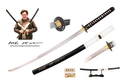 Kill Bill Full Tang Handmade Budd Sword Signed By Michael Madsen