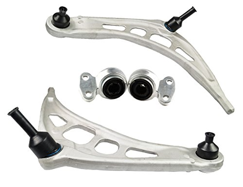 Bapmic Front Lower Left + Right Control Arm and Bushing Kit for BMW 3 Series E46 Z4 E85 E86 (Bmw 3 Bushings)