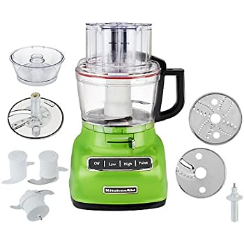 KitchenAid KFP0930GA 9 Cup Food Processor With Exact Slice System And  French Fry Disc