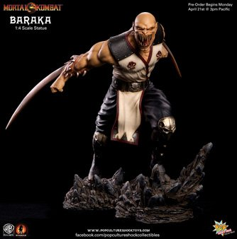 Pop Culture Shock Collectibles Mortal Kombat 9: Baraka Statue (1:4 Scale) -