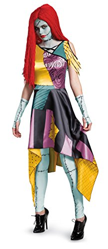 Disney Women's Sally Prestige Adult Costume, Multi, (Sally Costume Nightmare Before Christmas)