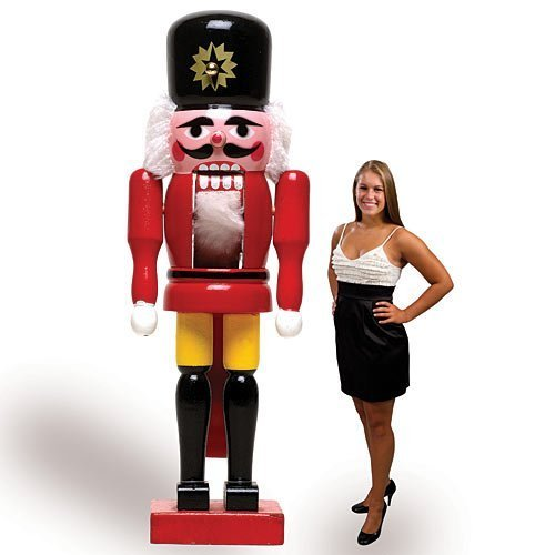 Nutcracker Standee Christmas Party Prop by Shindigz