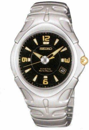 Seiko Men's Kinetic Auto Relay watch - Seiko Relay Kinetic Auto