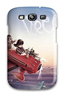 New Cute Red Baron Flight Tpu Skin Case Compatible With Galaxy S3