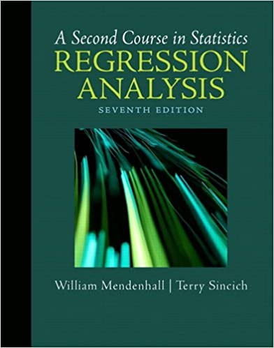 A Second Course In Statistics Regression