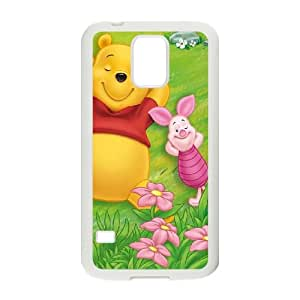Samsung Galaxy S5 Phone Case Covers White Many Adventures of Winnie the PoohH6012352