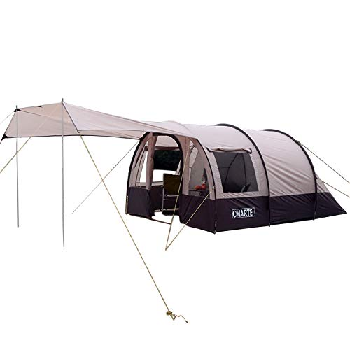 CMARTE 3-4 Person Large Camping Tent, Good as Family Tent or Party Tent