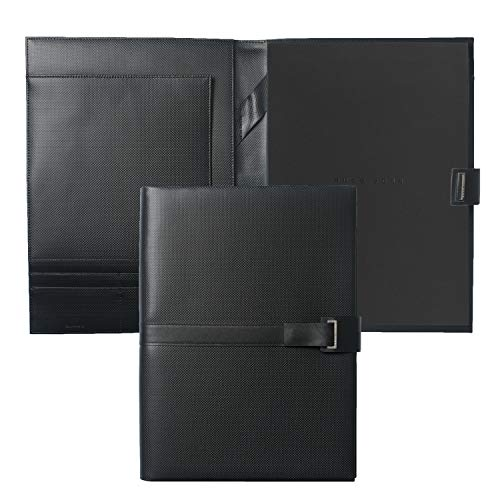 - Hugo Boss HLF603 A4 Folder - Black