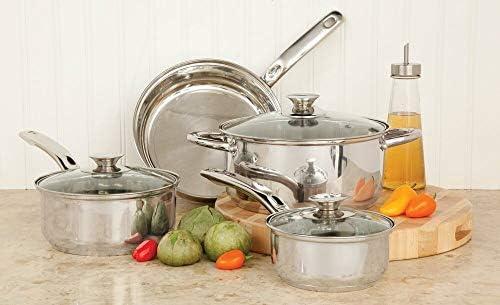 Amazon.com: HOT Ollas De Cocina Grandes y pequeno Acero ...