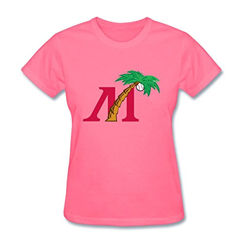 Yang Women's Fort Myers Miracle Logo T Shirt - Myers Fort For Women