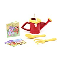 Green Toys Sesame Street Watering Can - Elmo Outdoor Activity Set