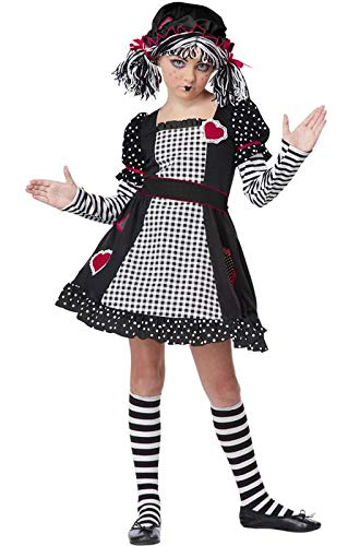 California Costumes Rag Doll Child Costume, -