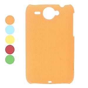 Mesh Design Hard Case for HTC G8 (Assorted Colors) --- COLOR:Orange