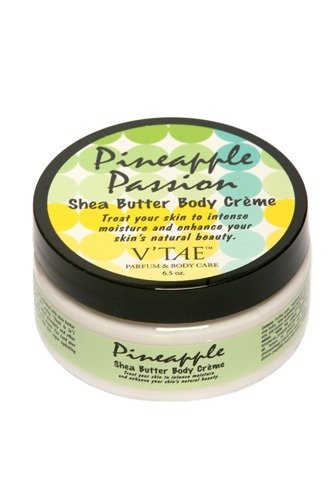(Pineapple Passion Shea Butter Body Creme V'TAE Parfum and Body Care 6.5 oz Cream)