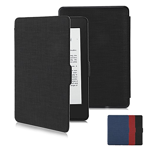Kindle Paperwhite Case Kindle Cover Screen Protector Premium Thinnest and Lightest PU Leather Cover with Auto Wake/Sleep for Paperwhite 1/2/3 by RUPPOLAR