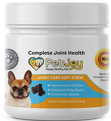- PetJoy Complete Hip and Joint Care Health Daily Soft Chews Key Ingredients Glucosamine HCI, MSM, Chondroitin Sulfate to Repair and Restore Hip and Joint Tissue