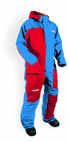 HMK Men's Special One Piece Suit 2 (Blue/Red, XX-Large)