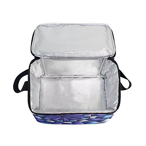 Bolso de almuerzo hinchable con cremallera, ideal para picnic, escuela, hombres y niños