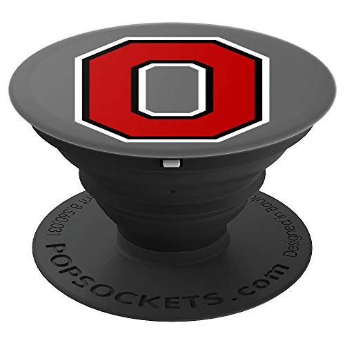 (PopSockets: Ohio Pride Letter O Home State Fan Gift - PopSockets Grip and Stand for Phones and Tablets)