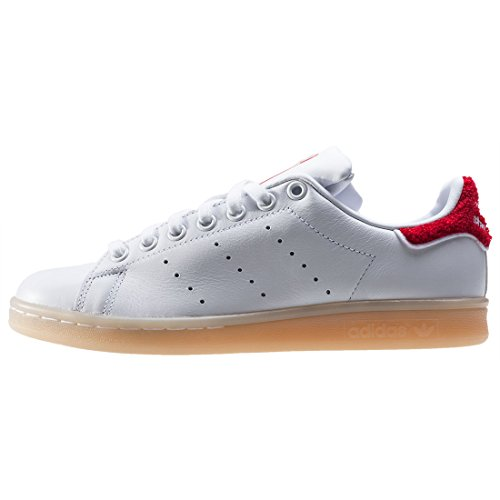 adidas Damen Stan Smith W Turnschuhe White / Red