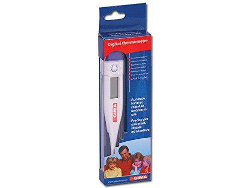 Gima axilar o rectal Term/ómetro digital de precisi/ón para uso oral Medici/ón de fiebre//temperatura