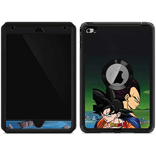 Skinit Dragon Ball Z Goku & Vegeta OtterBox Defender iPad Mini 4 Skin for CASE - Officially Licensed Dragon Ball Z Skin for Popular Cases Decal - Ultra Thin, Lightweight Vinyl Decal Protection (Dragon Z Mini Ball Ipad Cases)