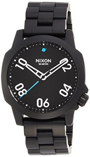 [ニクソン]NIXON RANGER 40: ALL BLACK NA468001-00