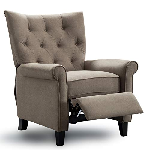 Roll Arm Wingback Chair - 2