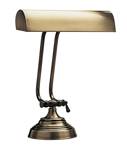 Antique Brass Finish Adjustable Piano Desk Lamp