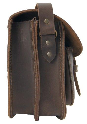 Freiherr von Maltzahn , Sac pour femme à porter à l'épaule Marron marron taille unique