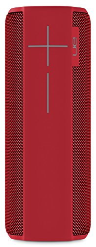 Ultimate Ears MEGABOOM Lava Red Wireless Mobile Bluetooth Speaker (Waterproof and Shockproof)