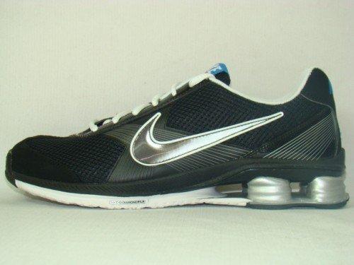 FLY Black SHOX Running ZIPSISTER Metallic Nike Womens Silver White 9 SZ Shoes xYBRZwIwq