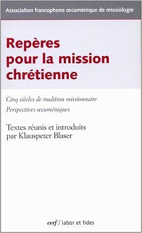 Livre gratuits Repères pour la mission chrétienne pdf