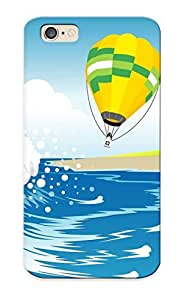 Iphone 6 Case Cover Hot Air Balloons Over The Beach Case - Eco-friendly Packaging