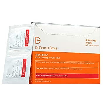 Image of Dr. Dennis Gross Skincare Alpha Beta Extra Strength Daily Peel | 60 Treatments Health and Household