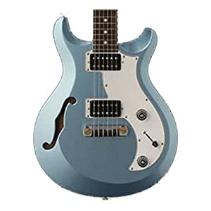prs mhsd11 if s2 mira semi hollow electric guitar ice blue fire mist with dot. Black Bedroom Furniture Sets. Home Design Ideas