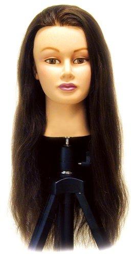 Celebrity Lauren Cosmetology Human Hair Manikin, 24-26 - Mannequin Competition
