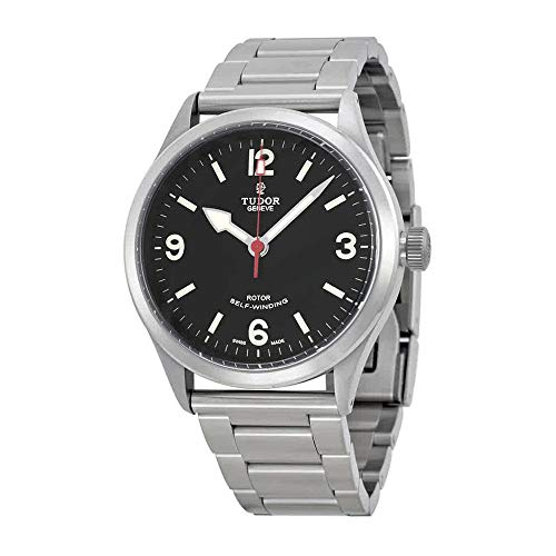 Tudor Heritage Ranger Black Dial Stainless Steel Mens Watch 79910-BKASSS