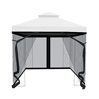 The Outdoor Patio Store Insect Netting for 8' x 8' Gazebo : Garden & Outdoor