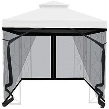 8u0027 x 8u0027 Gazebo Insect Netting  sc 1 st  Amazon.com & Amazon.com : 8x8 ft Garden Canopy Gazebo Replacement Top Green ...