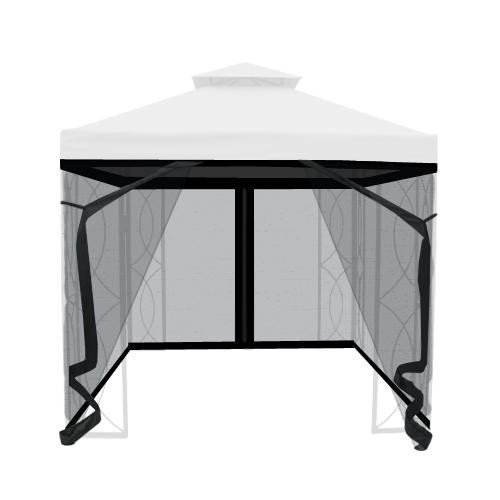 The Outdoor Patio Store Insect Netting for 8′ x 8′ Gazebo