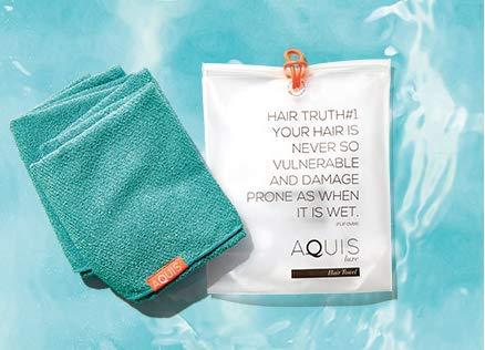 AQUIS 03 Prime Rapid-Dry Hair Towel. ()