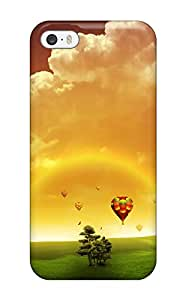 New Style OZ4FVVT8URJ3NLD0 Fashion Protective Dreams Of Fly Case Cover For Iphone 5/5s
